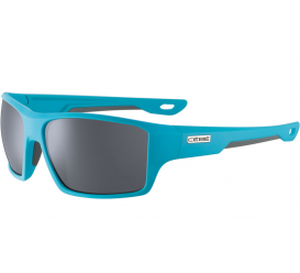 Okulary CEBE Soft Touch Blue Grey  Zone Polarized Grey Cat.3 Silver