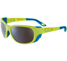 Okulary CEBE Matt Lime Blue  Zone Brown Cat.4 Silver AF
