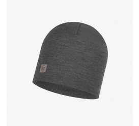 BUFF Czapka Merino Heavyeight Hat SOLID GREY