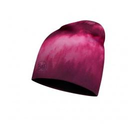 BUFF® Czapka Microfiber & Polar Hat US HOLLOW PINK BLACK FLEECE