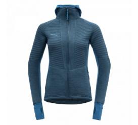 Bluza damska z kapturem TINDEN SPACER blue
