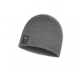 Czapka Buff Knitted & Fleece Hat Solid GREY