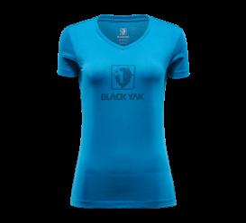 T-shirt SENEPOL LOGO NAPIS BLACKYAK lyons blue