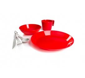 Zestaw naczyn CASCADIAN 1 PERSON TABLE SET red