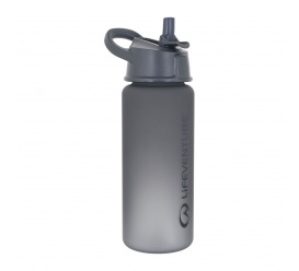 Butelka na wodę LIFEVENTURE Flip-Top Water Bottles 750ml grey