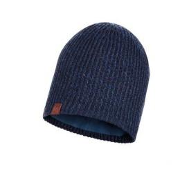 BUFF Czapka Zimowa Knitted & Fleece Hat Lyne NIGHT BLUE