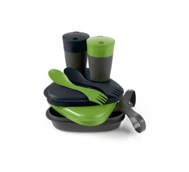 Zestaw Pack´n Eat Kit Green / Black