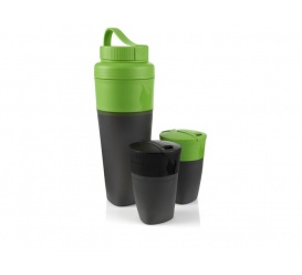 Zestaw Pack-up Drink Kit Green / Black
