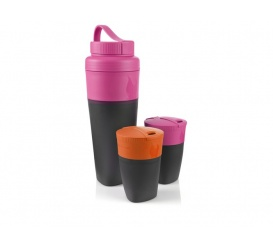 Zestaw Pack-up Drink Kit Fuchsia / Orange