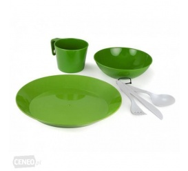 Zestaw naczyń CASCADIAN 1 PERSON TABLE SET green