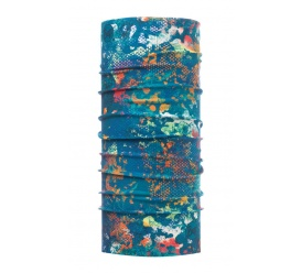 Chusta High UV Protection BUFF Aquatic Camo Turquoise