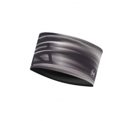 Opaska BUFF UV Headband EFFECT LOGO GREY