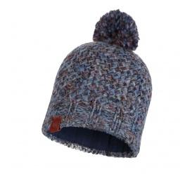 BUFF Czapka Zimowa Knitted & Fleece Hat Margo BLUE