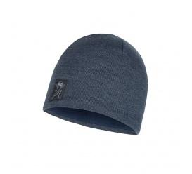 BUFF Czapka Zimowa Knitted & Fleece Hat Solid NAVY