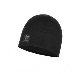 BUFF Czapka Zimowa Knitted & Fleece Hat Solid BLACK