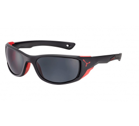 Okulary CEBE Jorasses M Matt Black Red 1500 Grey PC Cat. 3