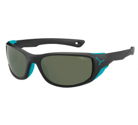Okulary CEBE Jorasses M Matt Black Turquoise