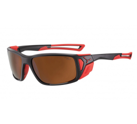 Okulary CEBE Proguide Matt Black Red 2000
