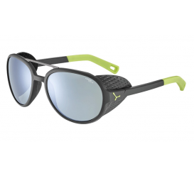 Okulary CEBE Summit Matt Black Lime Variochrom