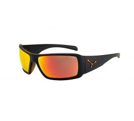 Okulary CEBE Utopy Black Orange 1500 Grey Cat.3