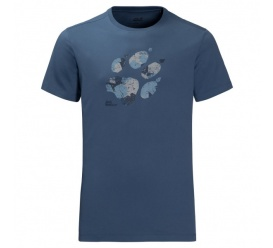 T-shirt MARBLE PAW T MEN ocean wave