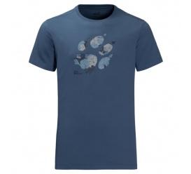 T-shirt MARBLE PAW T MEN ocean wave