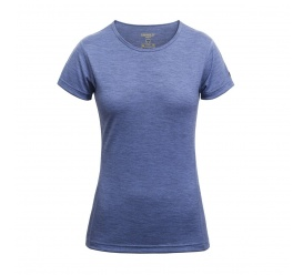 T-shirt damski Breeze bluebell melange