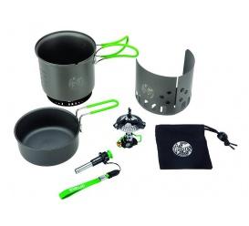 Zestaw OPTIMUS Elektra Fe Cook System: palnik + naczynia